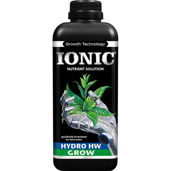 Growth Technology Ionic Hydro Grow do wody twardej 1L - na fazę wzrostu do upraw w hydroponice