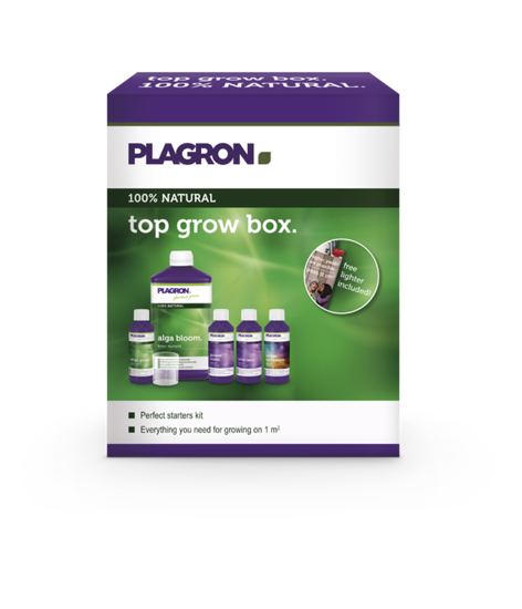 Top Grow Box 100% Natural zestaw nawozów Plagron